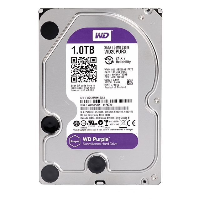 Picture of HDD WD PURPLE 1TB