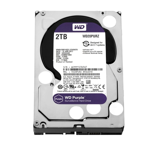 Picture of HDD WD PURPLE 2TB