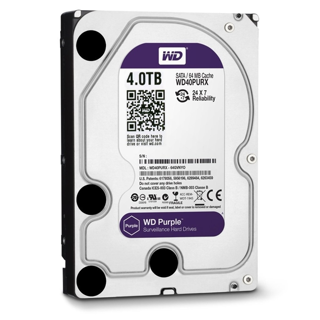 Picture of HDD WD PURPLE 4TB