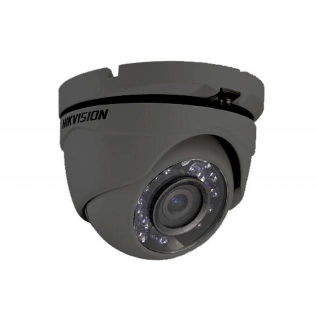 Imagine DS-2CE56C0T-IRM 2,8mm LENS 1M GRAY COLOR HD 720p DOME HIKVISION