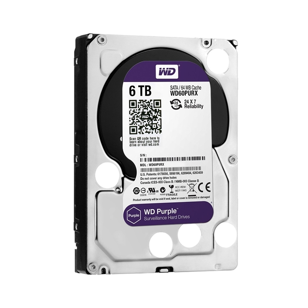 Picture of HDD WD PURPLE 6TB