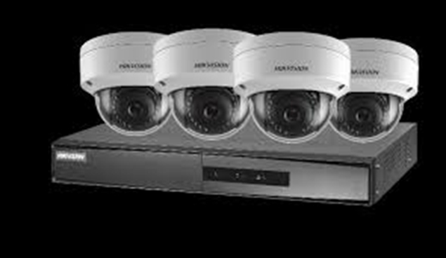 Picture of NK42E1H-1T(WD) 2,8mm 4CH 2MP PoE NVR+ 4 Dome Cameras
