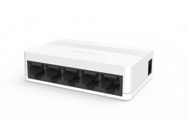Picture of DS-3E0105D-E 5 Port Ethernet Switch